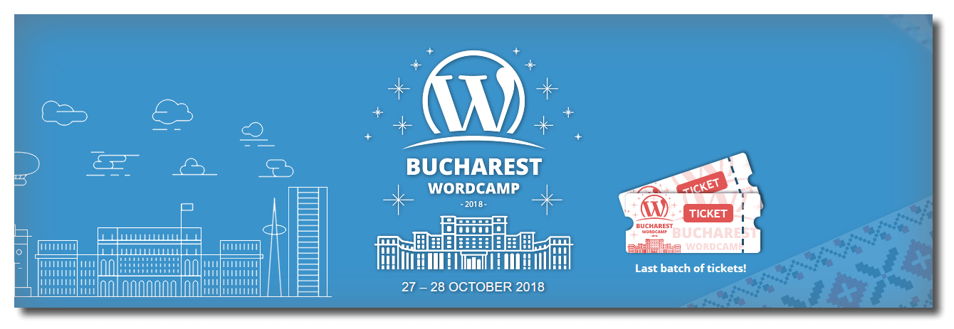 WordCamp Bucharest 2018 hero image